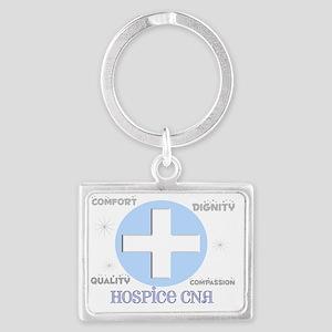 Hospice CNA 2012 BLUE CROSS Landscape Keychain