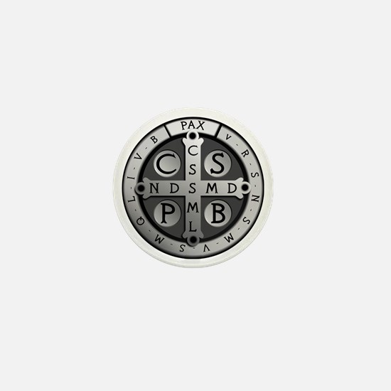 BenedictMedal_ShirtFront Mini Button