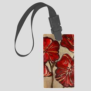 Poppy Art I Large Luggage Tag