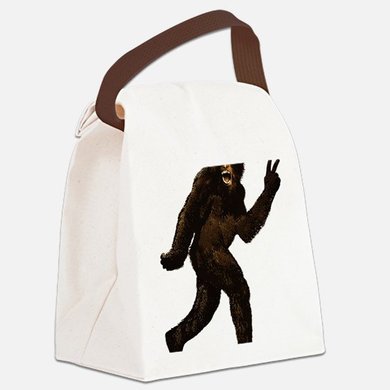 Big Foot Peace 925537 Canvas Lunch Bag