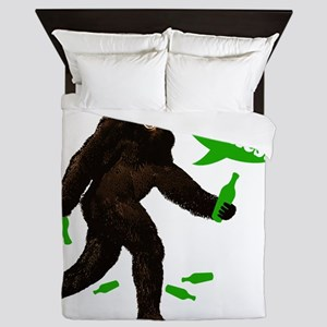 Big Foot Drink Up Bitches Green 735242 Queen Duvet