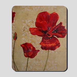 Poppy Art III Mousepad