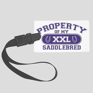 saddlebredproperty Large Luggage Tag