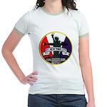 USS NEW YORK CITY Jr. Ringer T-Shirt