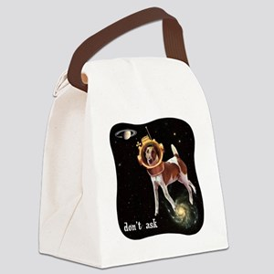 CP-tee-spacedog-front Canvas Lunch Bag