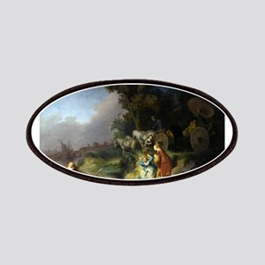 The abduction of Europa - Rembrandt - c1632 Patch