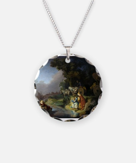 The abduction of Europa - Rembrandt - c1632 Neckla