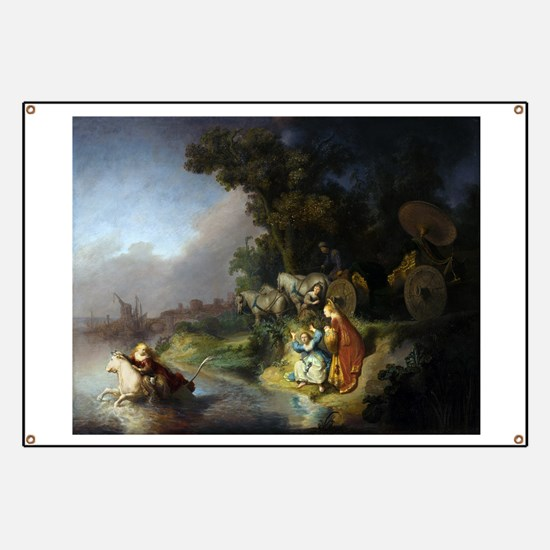 The abduction of Europa - Rembrandt - c1632 Banner