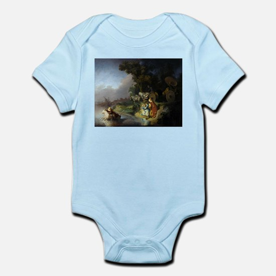 The abduction of Europa - Rembrandt - c1632 Baby L
