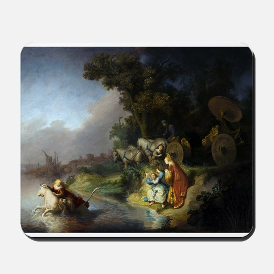 The abduction of Europa - Rembrandt - c1632 Mousep