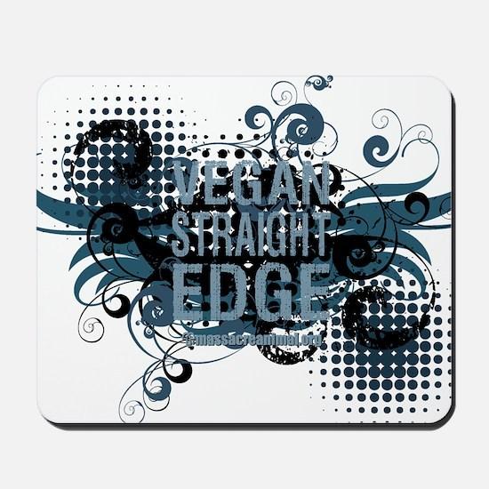 vegan-straight-edge-02 Mousepad