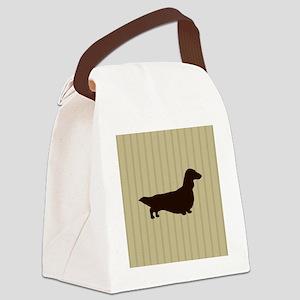 doxiepillowlong Canvas Lunch Bag