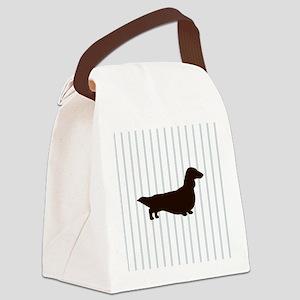 doxiepillowlong2 Canvas Lunch Bag