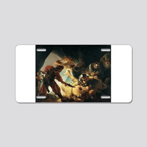 The Blinding of Samson - Rembrandt - c1636 Aluminu