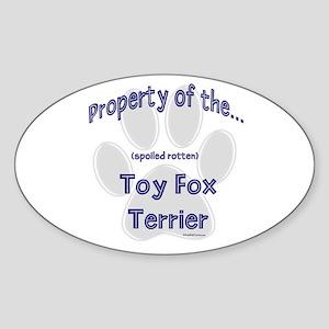 Toy Property Oval Sticker