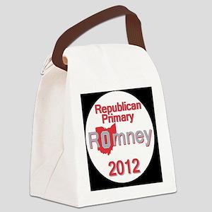 Romney OHIO Canvas Lunch Bag