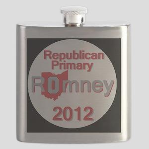 Romney OHIO Flask