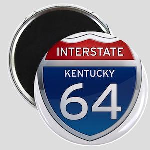 Interstate 64 - Kentucky Magnet