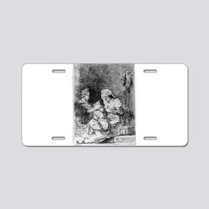The Holy Family - Rembrandt - 1632 Aluminum Licens