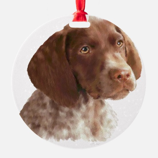 German Shorthair Pointer Puppy Ornament