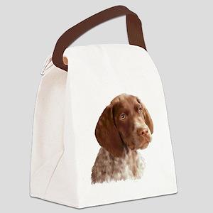 German Shorthair Pointer Puppy Canvas Lunch Bag