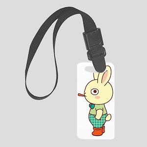 Loner Rabbit Small Luggage Tag