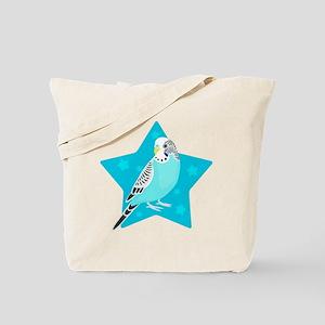 Sweet Bird Parakeet star Tote Bag