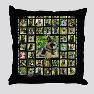 blanket-brutus Throw Pillow