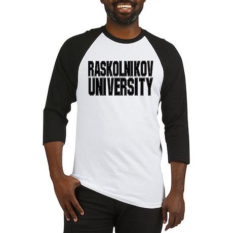 Raskolnikov University Baseball Jersey
