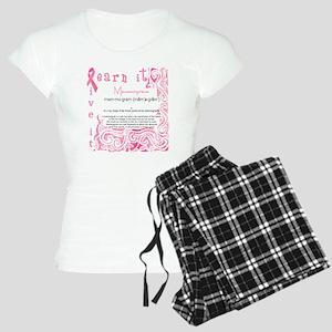 mammogram Women's Light Pajamas