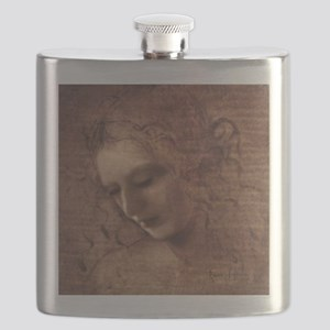 Portrait of the Artist Flask