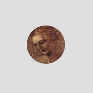 Portrait of the Artist Mini Button