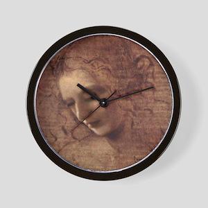 Portrait of the Artist Wall Clock