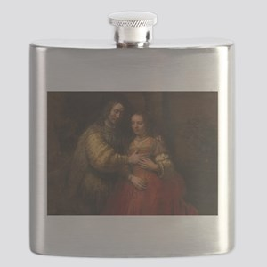 The Jewish bride - Rembrandt - c1665 Flask