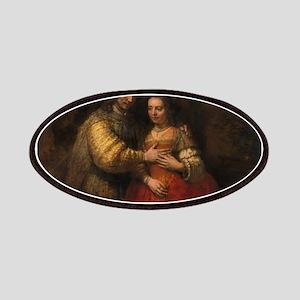 The Jewish bride - Rembrandt - c1665 Patch