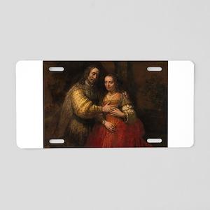 The Jewish bride - Rembrandt - c1665 Aluminum Lice