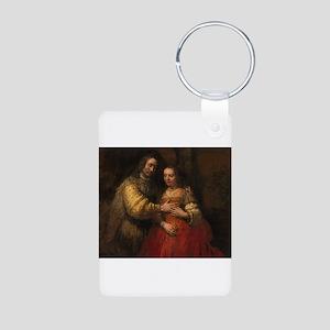The Jewish bride - Rembrandt - c1665 Aluminum Phot
