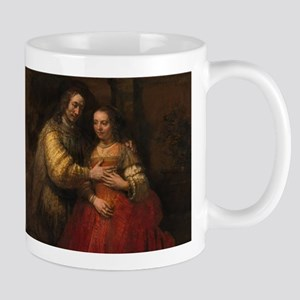 The Jewish bride - Rembrandt - c1665 11 oz Ceramic