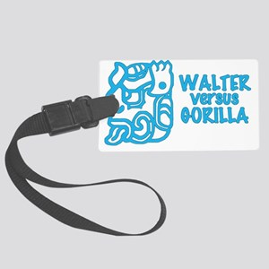 Walter Versus Gorilla Large Luggage Tag