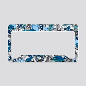 horsefeathers_scatterblue_lap License Plate Holder