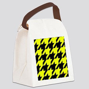menswalletyelohoundstooth Canvas Lunch Bag