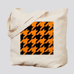 menswalletorangehoundstooth Tote Bag