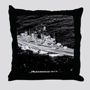 macdonough dlg8 framed panel print Throw Pillow