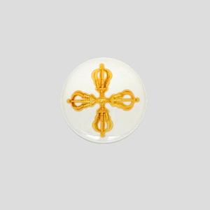 Double Dorje Mini Button