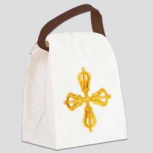 Double Dorje Canvas Lunch Bag