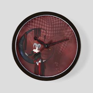 joker_ipad2cover Wall Clock