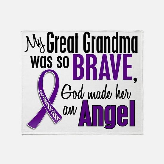 D Great Grandma Throw Blanket