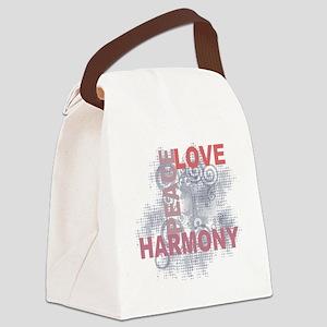 lovepeaceharmony Canvas Lunch Bag