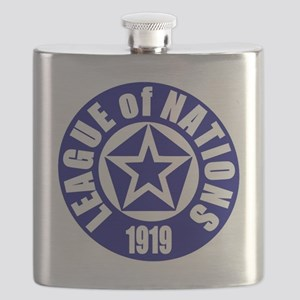 ART League of Nations 1919 Flask