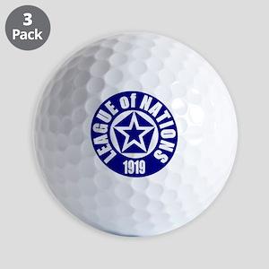 ART League of Nations 1919 Golf Balls